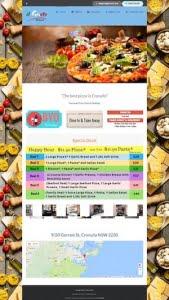 ilgusto-italian-restaurant website design by hari karki creations