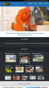 minidemolitionsydney.com.au website design by hari karki creations